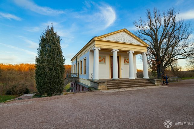 The römische Haus by Goethe inside the Park an der Ilm