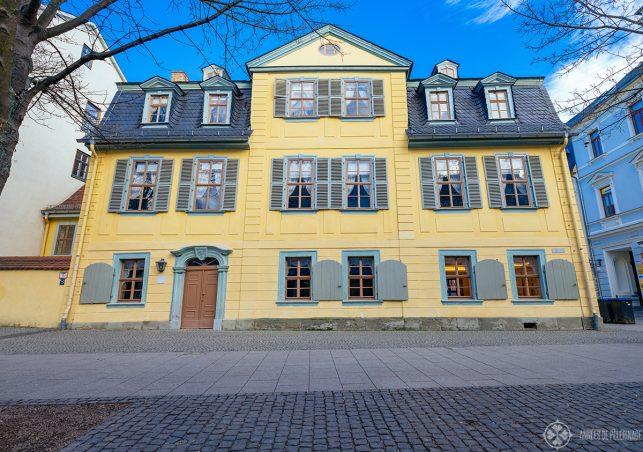 The Schiller House in weimar