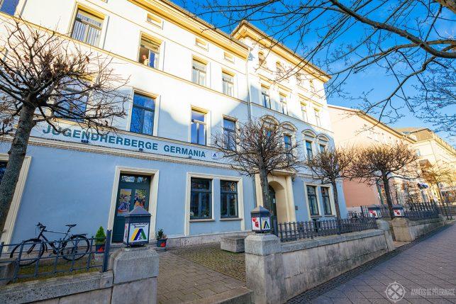 The Jugendherberge Germania youth hostel in weimar