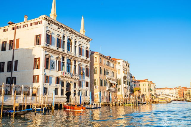 The Aman Venice luxury hotel on the Grand Canal in Venice