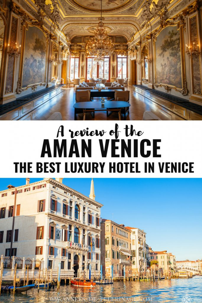 A detailed Aman Venice review. Find out if the best luxury hotel in Venice, Italy is actually worth the big price tag. Wondering where to stay in Venice, Italy? Then definitely read this unsponsored review of my stay there.
