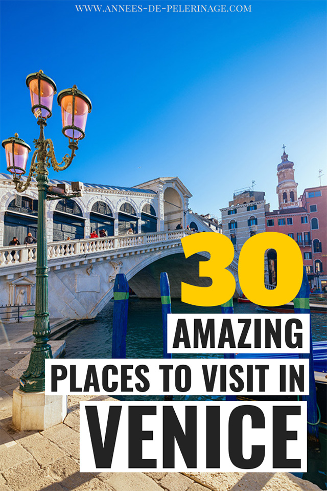 The 30 best things to do in Venice, Italy. A detailed travel guide with all the highlights and top tourist attractions in Venice. Wondering about the best places to visit in Venice? Then real this blog! WHere to stay and when to visit. Find all the best Venice photography spots and plan your perfect Venice itinerary
