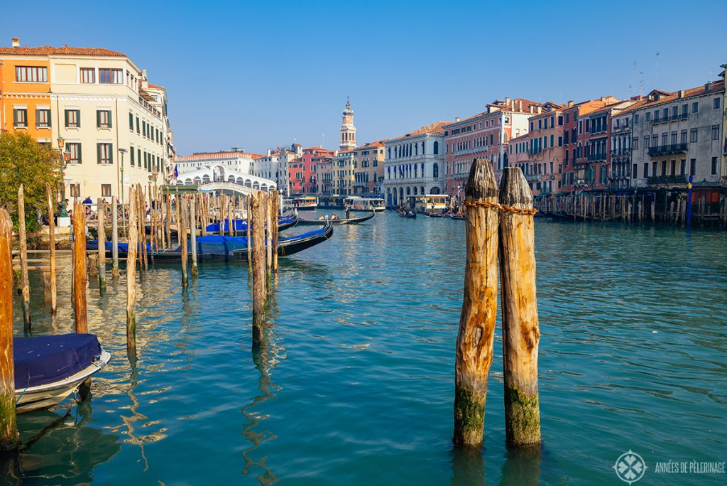 The Canal Grande and the Rialto Bridge - a must-see if you just got one day in Venice, Italy