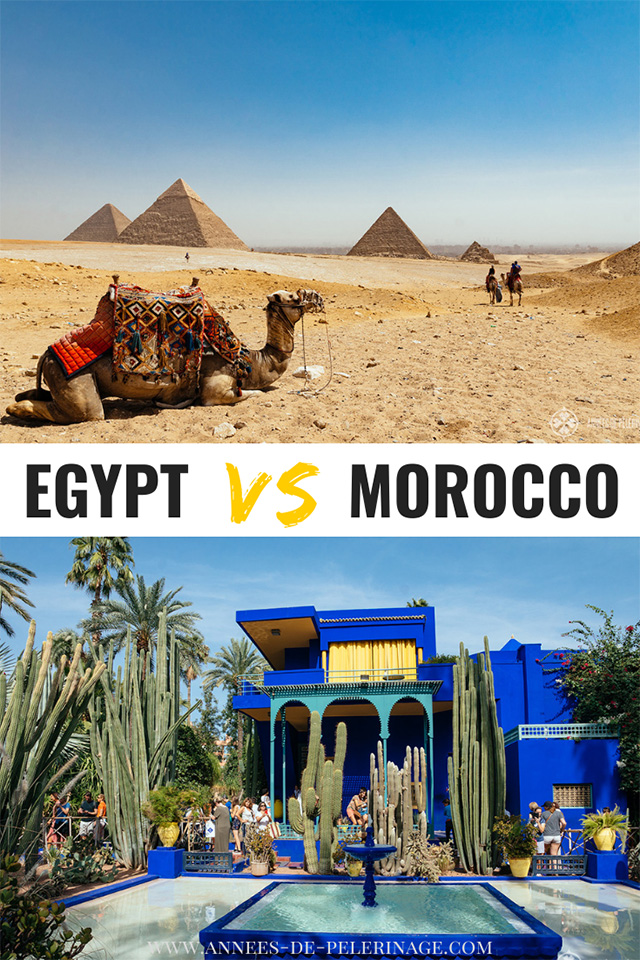 Egypt or Morocco - which country should I visit?