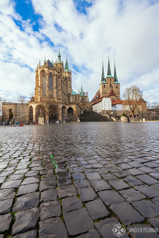 Erfurt Cathedral on the Domplatz