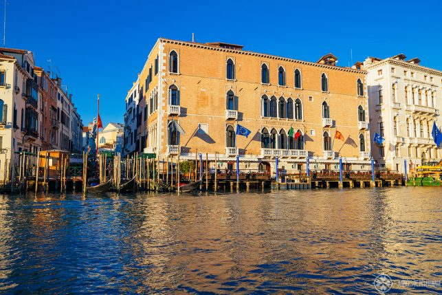 The Gritti Palace luxury hotel in Venice, Italy