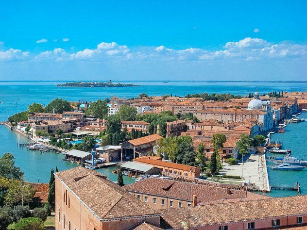 Hotel Belmond Cipriani on Guidecca island in Venice, Italy