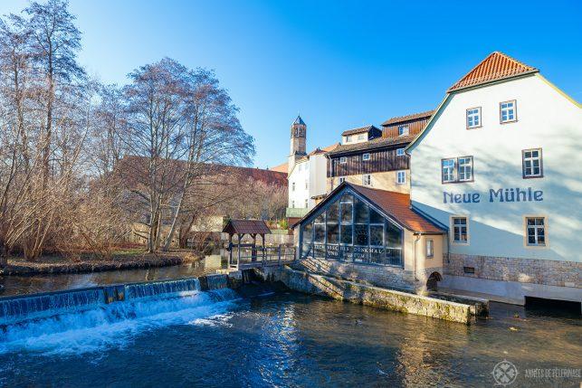 The Neue Mühle Museum in Erfurt