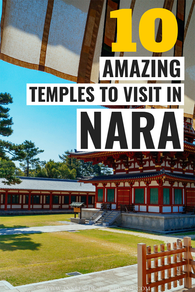 The 10 best temples to visit in Nara, Japan. Plan your perfect Japan itinerary with this detailed Nara travel guide. The best things to do in Nara | Places to visit in Nara | Nara temples