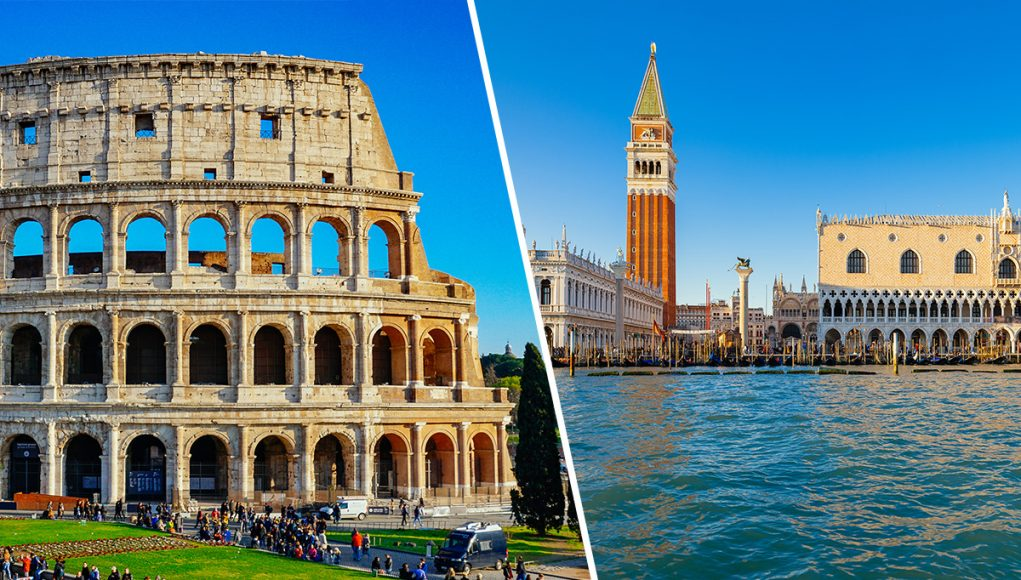 Venice or Rome - a detailed comparsion. Which should you visit!