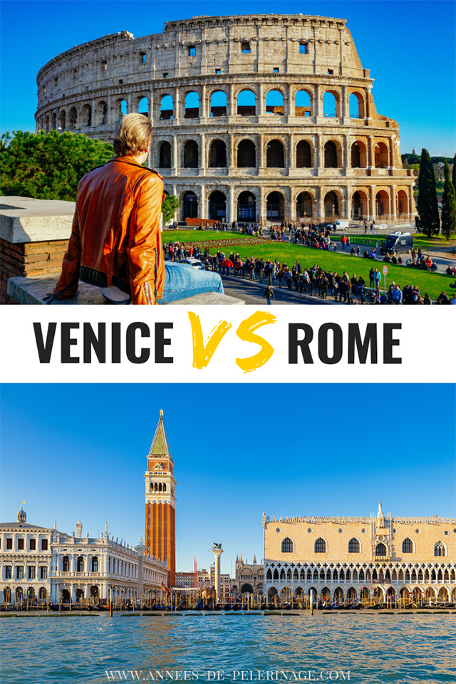 Venice or Rome, which city in Italy should you visit?