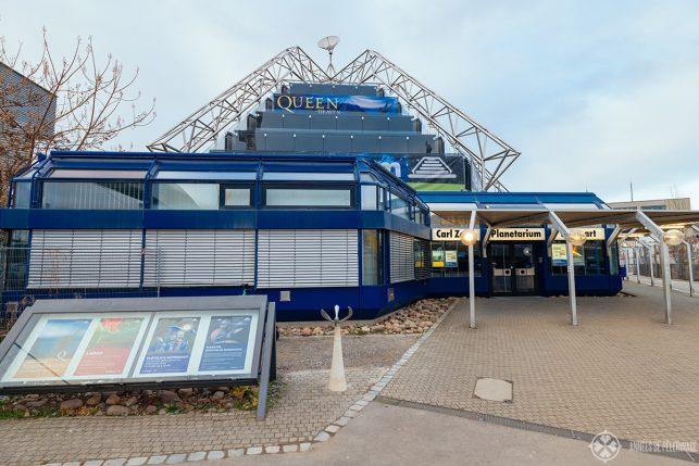 The Carl Zeiss Planetarium near Stuttgart