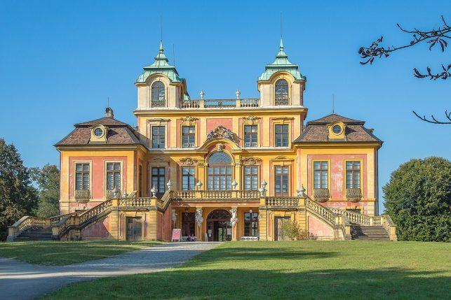 castle favorite in Ludwigsburg near Stuttgart