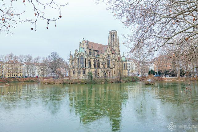 feuersee church stuttgart germany