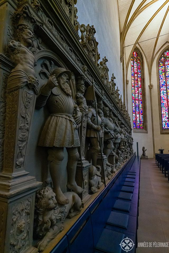 inside stiftskirche church stuttgart