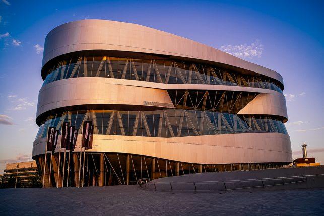 The fantastic Mercedes-Benz Museum in Stuttgart