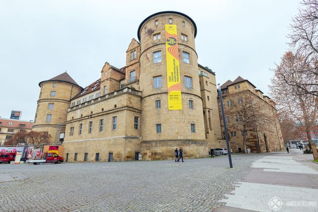 The Old Castle in Stuttgart where the Landesmuseum Württemberg is located in