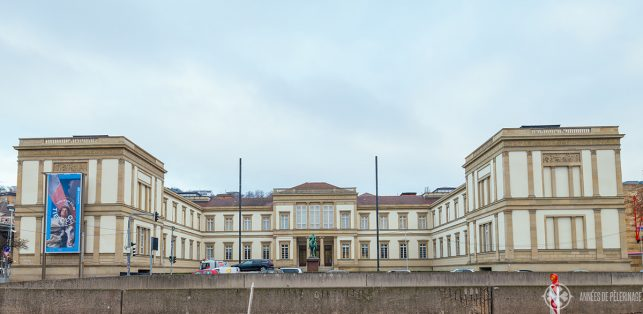 The old building of the Staatsgalerie Stuttgart