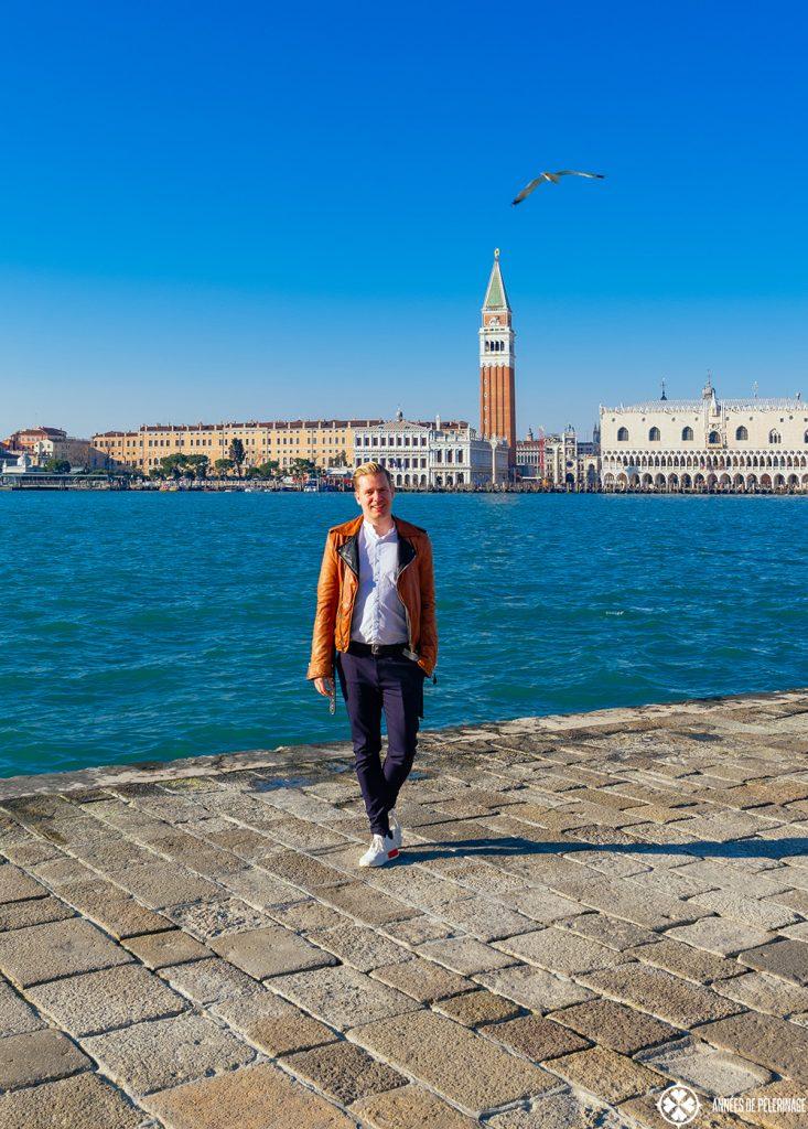 me in venice on the island of San Giorgio Maggiore
