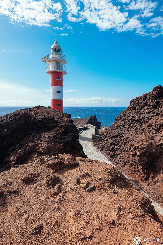 the lighthouse at punta de teno on tenerife