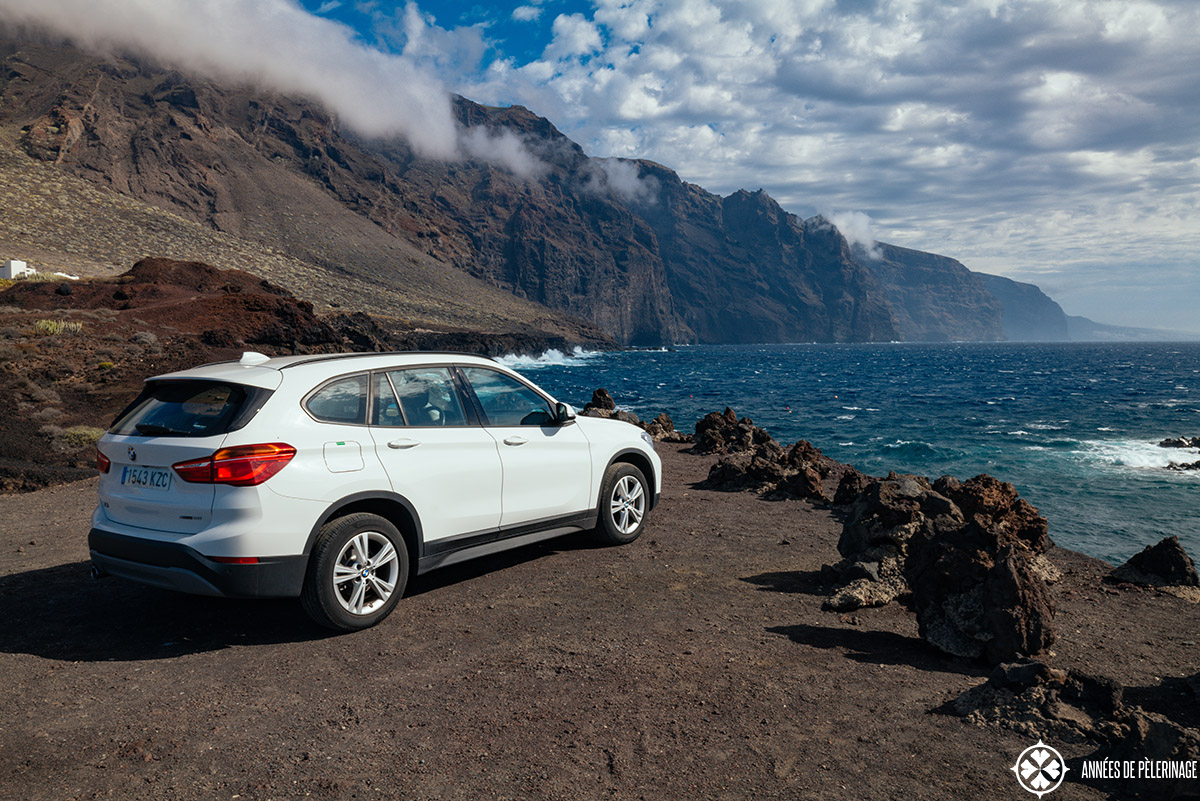 renting a car on tenerife to see the scenic landscape of the canary island