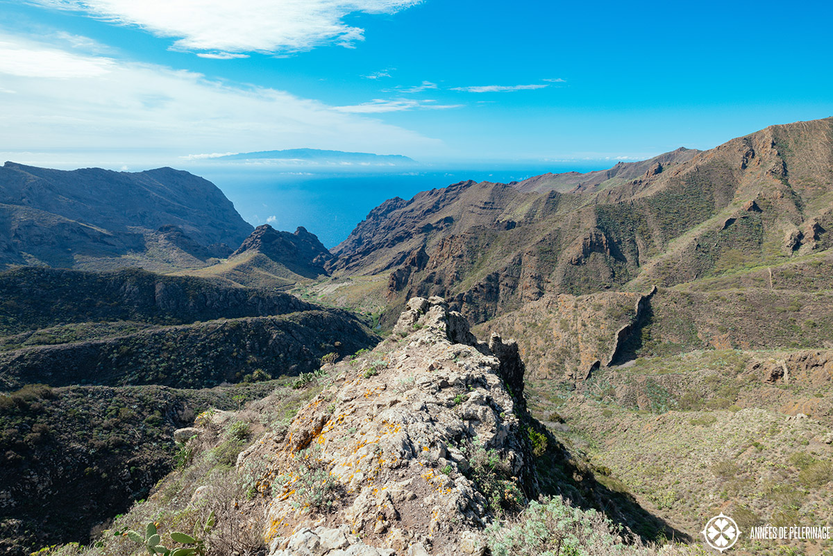 the beautiful mountains of tenerife's east coast